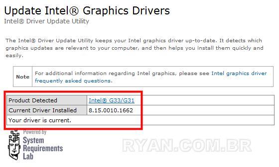 Imagem de Problema com o chipset Intel G31 e múltiplos monitores. (g31 driver current 75)