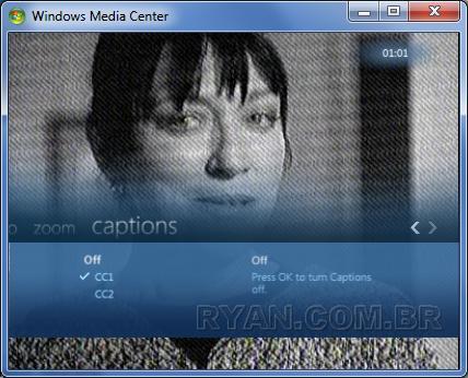 Imagem de O WMC também tem problemas com closed caption. (seven WMC ClosedCaption Setup 75)